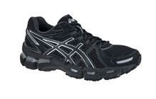 Asics Women's Gel Kayano 19 W black/onyx/lightning